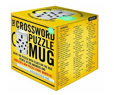 crossword puzzle mug box