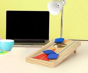 desktop bean bag game