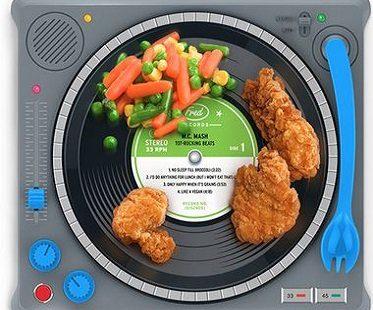 dj dinner plate kids