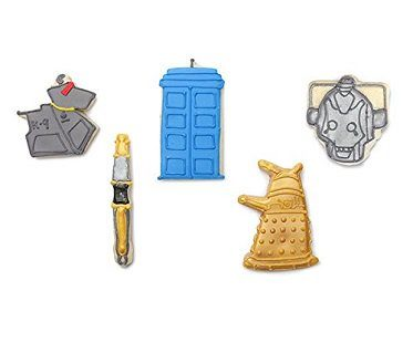 doctor who cookie cutters biscuits