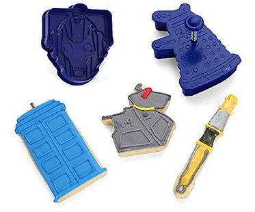 doctor who cookie cutters shapes