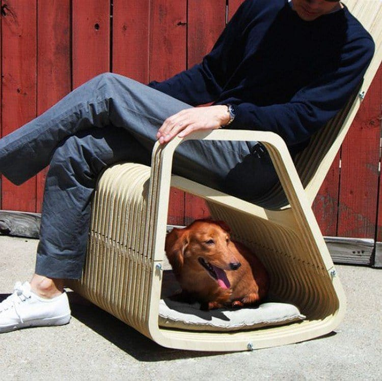 This 'Rocking-2-Gether Chair' Rocks People And Their Pets ...