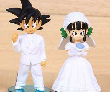 dragon ball z wedding figurines