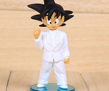 dragon ball z wedding figurines goku