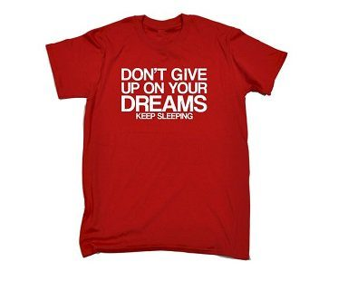 dreams t-shirt red