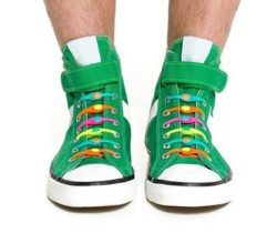 elastic no tie shoelaces colours