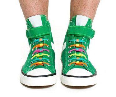 elastic no tie shoelaces colours