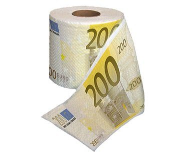 euro toilet paper roll