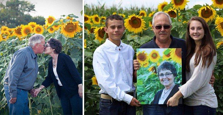 family babbette sunflowers