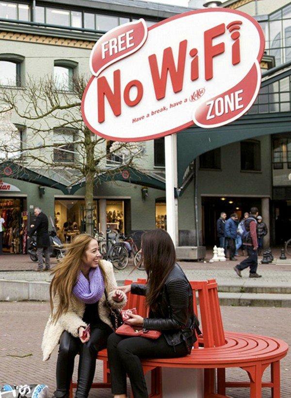 free no wifi zone