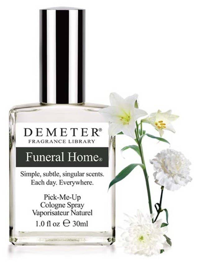 funeral home fragrance