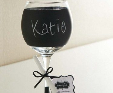 funny chalkboard wine glasses chalk