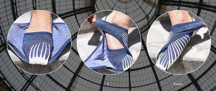 furoshiki shoes instructions