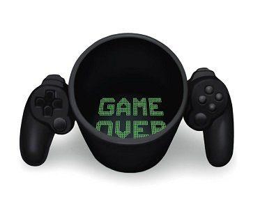 game controller mug game over