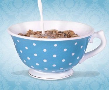 giant tea cup bowl cereal