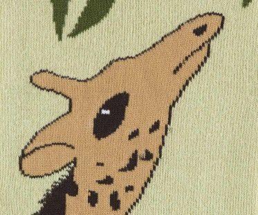 giraffe socks animal