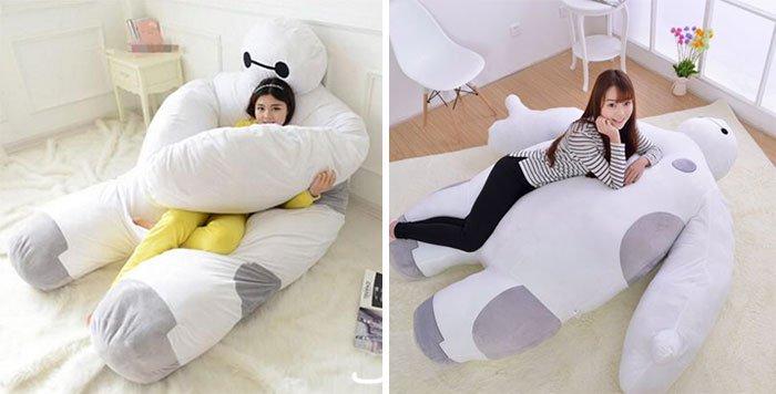 Imagine Sleeping Every Night On A Cuddly Life Size Baymax