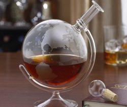 globe liquor decanter