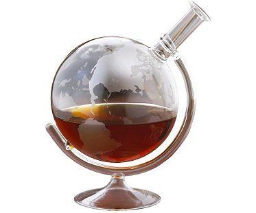 globe liquor decanter spirit