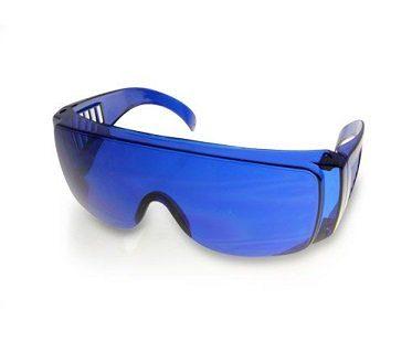 golf ball finder glasses blue