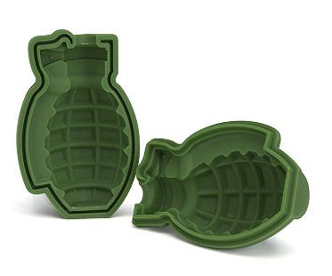 grenade ice cube mold bomb