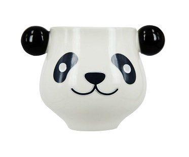 heat changing panda mug white
