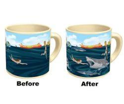 heat changing shark mug