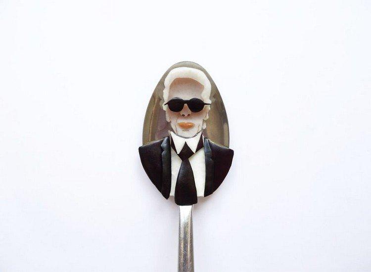 karl lagerfeld on spoon