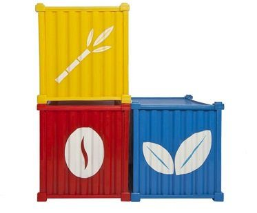 kitchen cargo containers pots