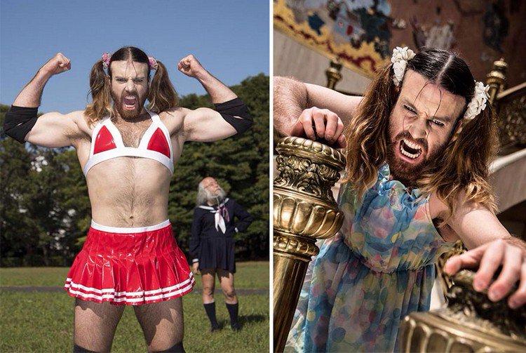 Australian Dress Wearing Death Metal Singing Wrestler