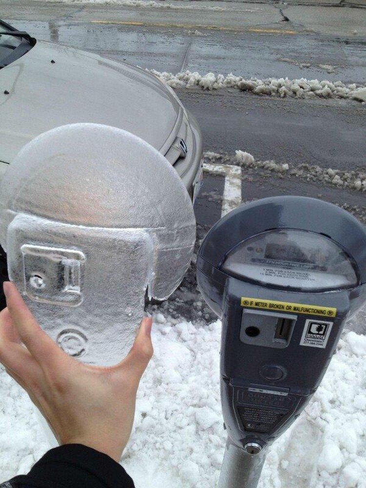 meter mold ice