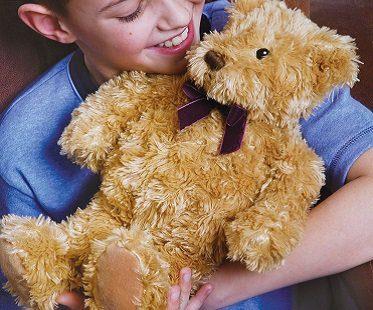 microwavable teddy bear