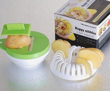 microwave potato chip maker slicer