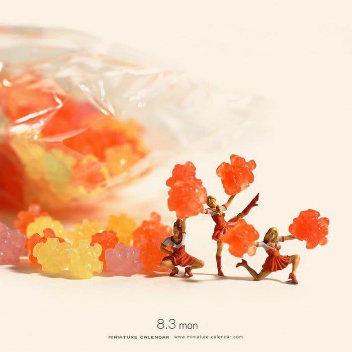 mini cheerleaders candy