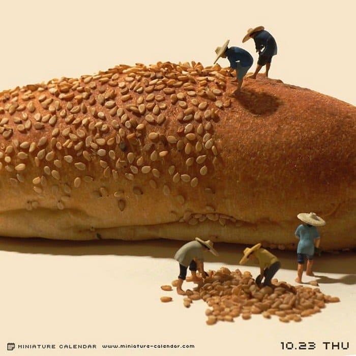 mini farmers bread seeds