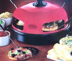 mini pizzas oven