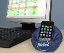 mobile phone bean bag