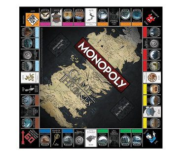 monopoly game of thrones edition board