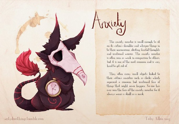 monsters-anxiety