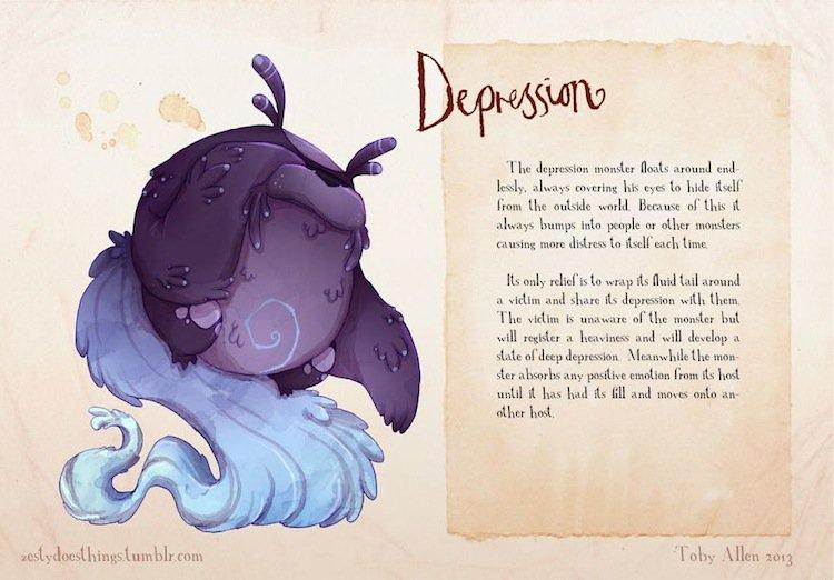 monsters-depression