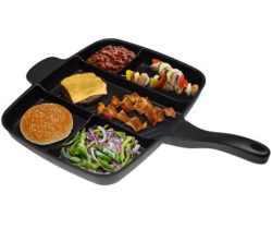 multi-section frying pan
