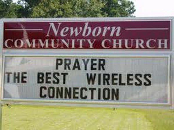 newborn prayer wireless connection