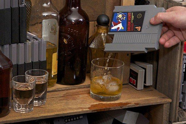 nintendo drinks cartridges whiskey
