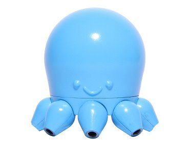 octopus audio splitter blue