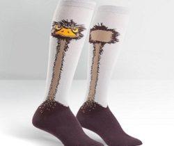 ostrich socks