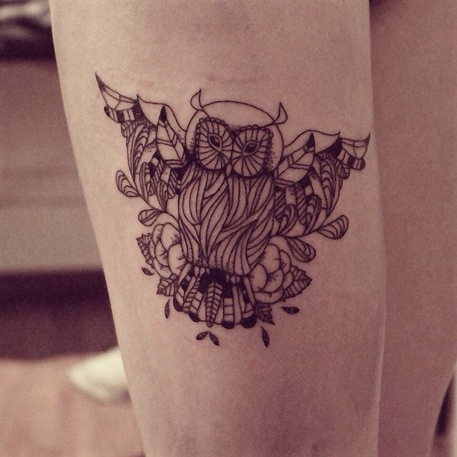 tattoo artist cheyenne creates beautiful animal spirit inspired tattoos. Black Bedroom Furniture Sets. Home Design Ideas