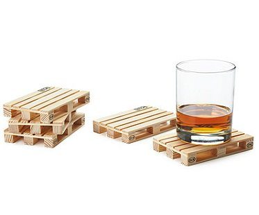 pallet coasters drinks