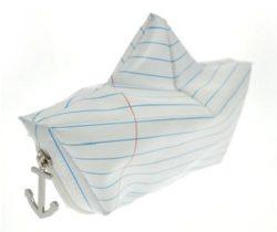 paper boat pencil case