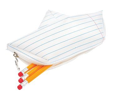 paper boat pencil case pens