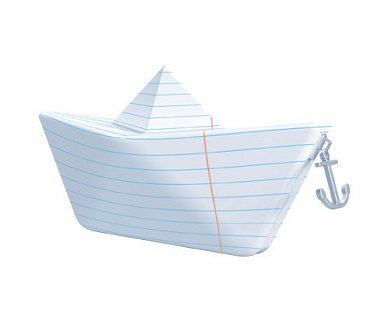 paper boat pencil case ship